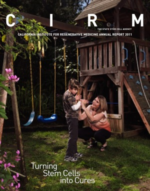 2010 CIRM Annuarl Report Cover