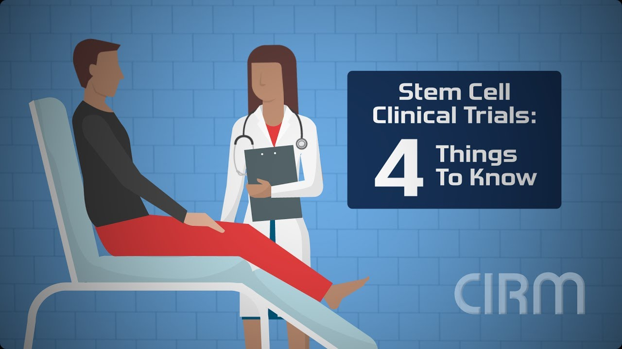 Stem Cell Clinical Trials: 4 Things to Know